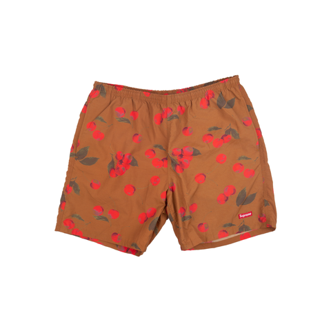 Supreme Brown Cherry Water Shorts