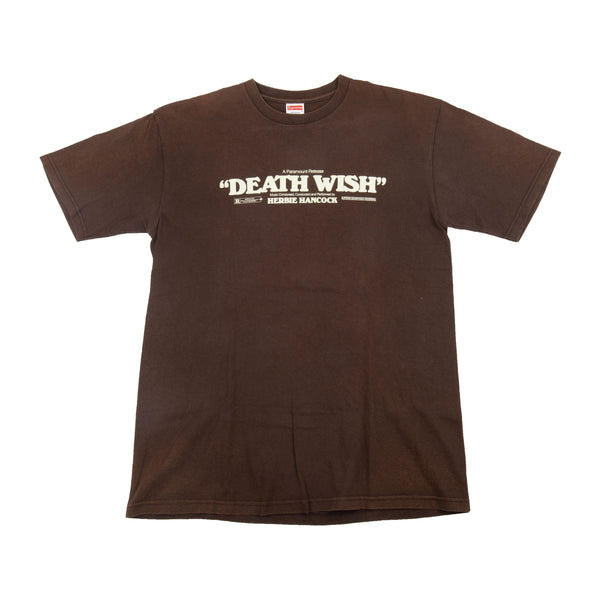 Supreme Brown Deathwish Tee