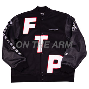 FTP Black 10 Year Anniversary Varsity Jacket