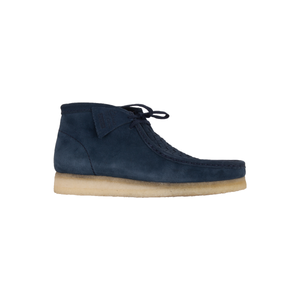 Supreme Navy Clarks Wallabees