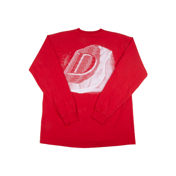 Dime Red Stone L/S