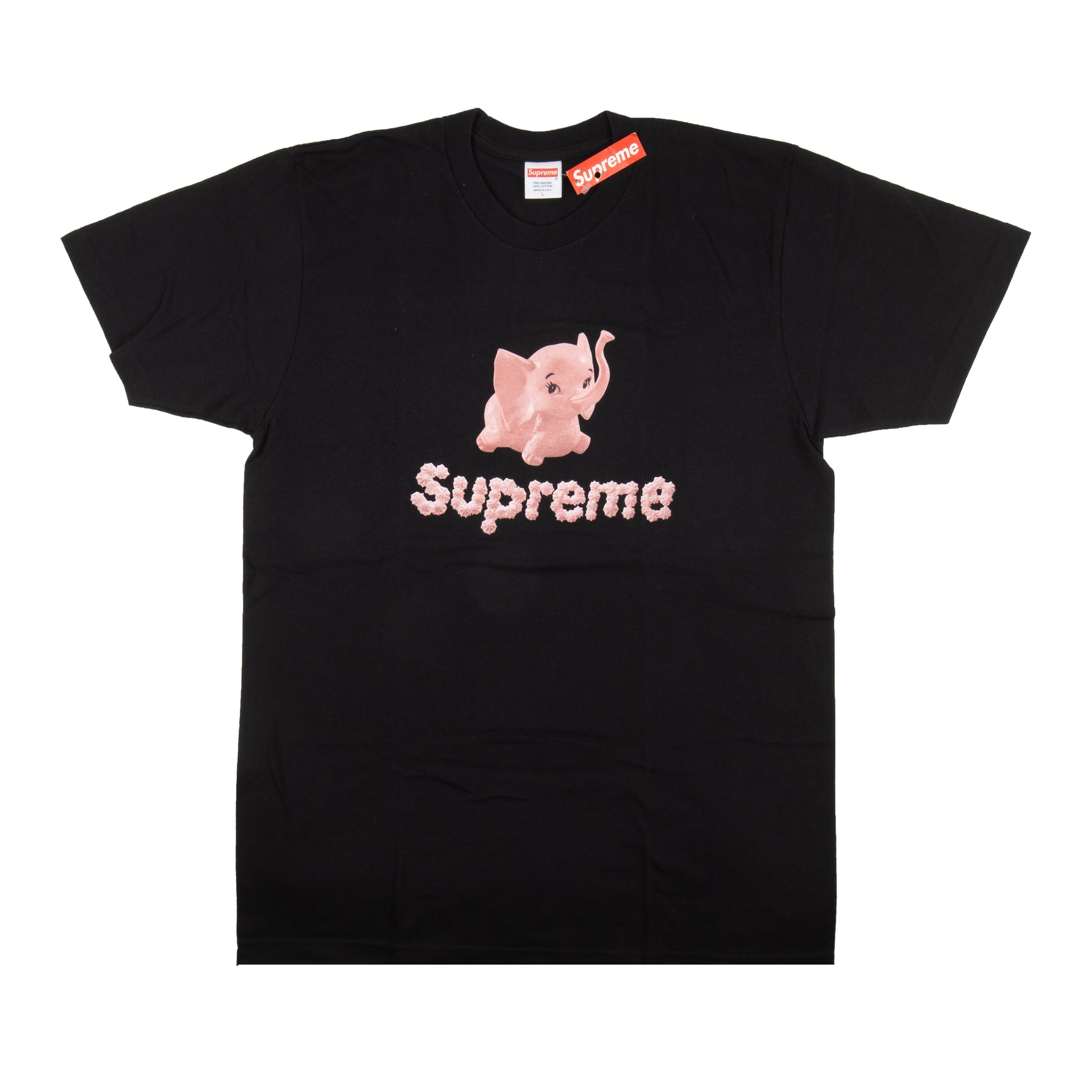 Supreme Black Elephant Tee