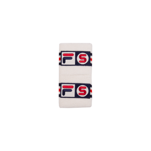 Supreme White Fila Wristbands