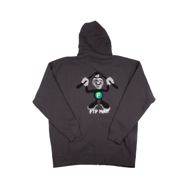 FTP Grey FTP Man Zip Up