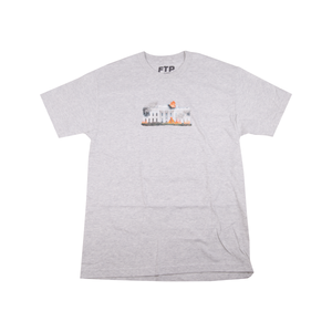 FTP Ash Grey White House Tee