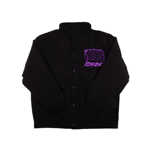 FTP Black Puffy Jacket