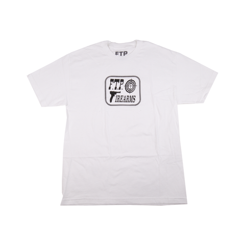 FTP White Firearms Tee