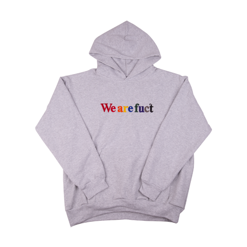 FUCT Grey We Are Fuct Hoodie