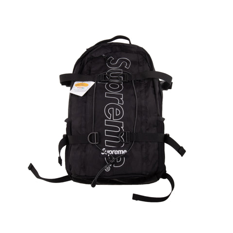 Supreme Black FW18 Backpack