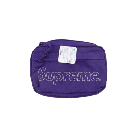 Supreme Purple FW18 Shoulder Bag