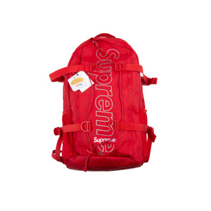 Supreme Red FW18 Backpack