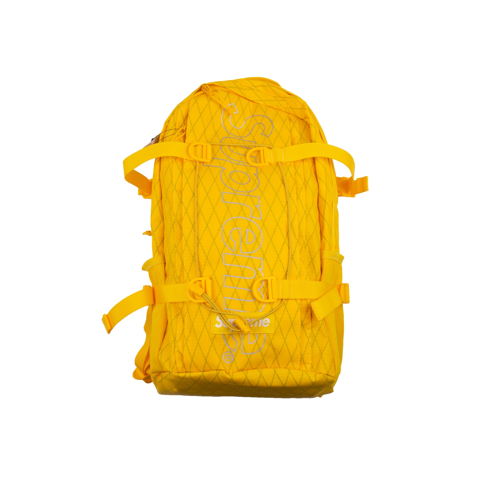 Supreme Yellow FW18 Backpack