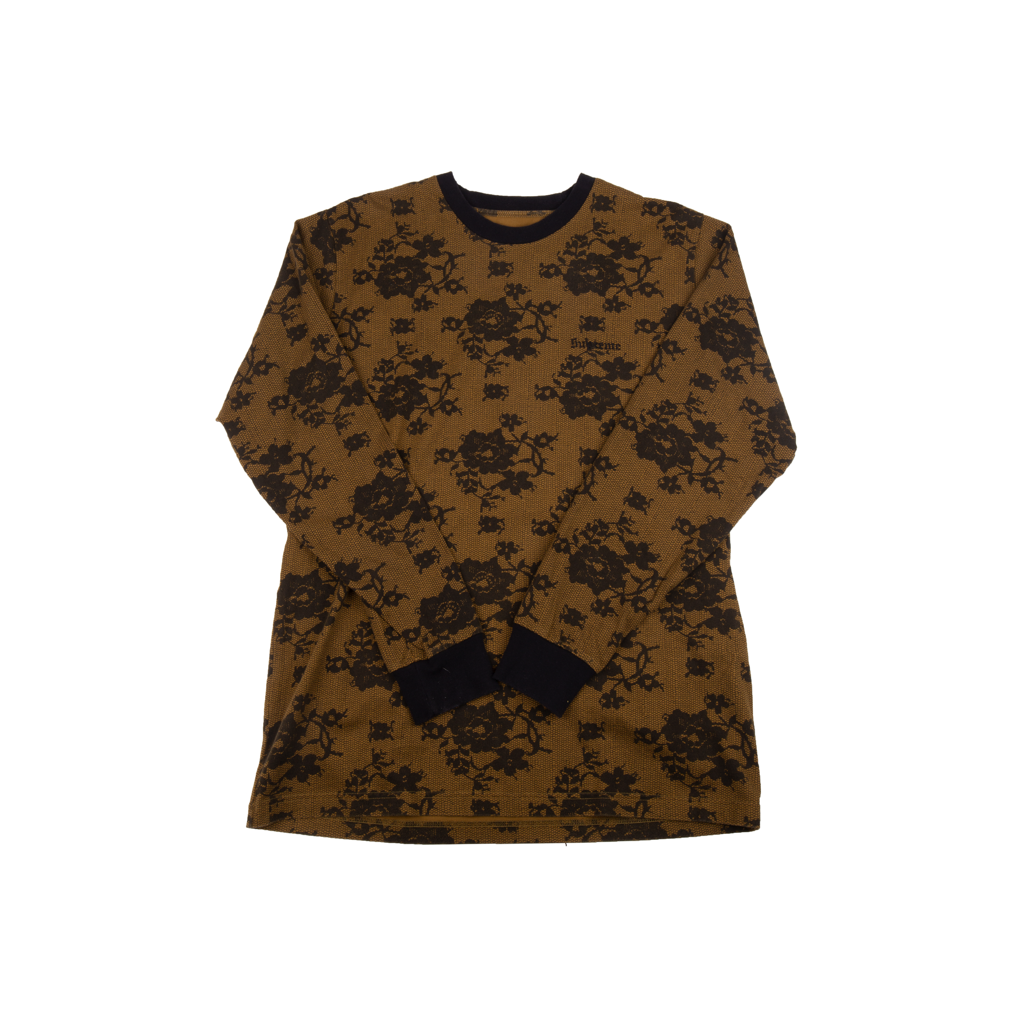 Supreme Gold Lace L/S