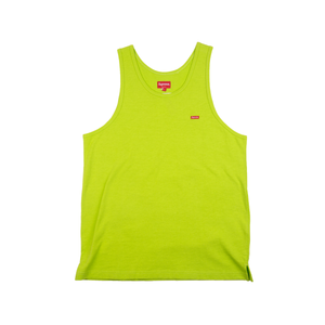 Supreme Green Small Box Logo Tank Top