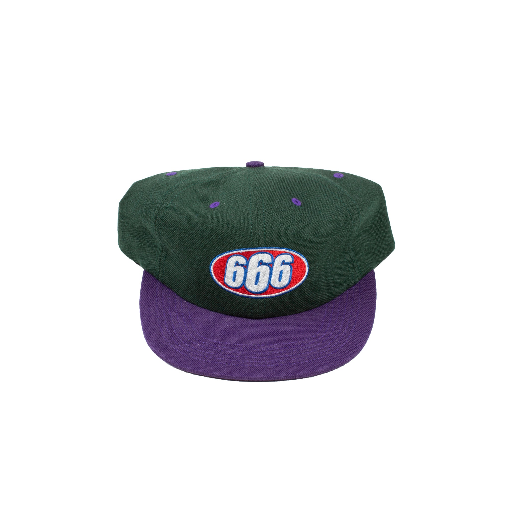 Supreme Green 666 Hat