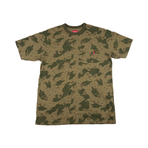 Supreme Green Chip Camo Pocket Tee