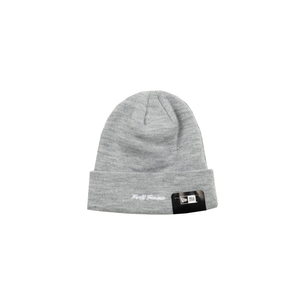 Supreme Grey New Era Box Logo Beanie