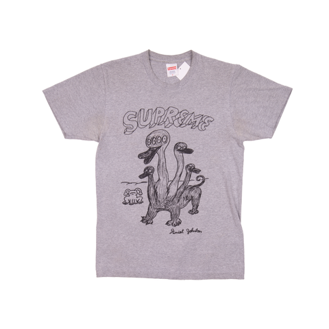 Supreme Grey Daniel Johnston Duck Tee