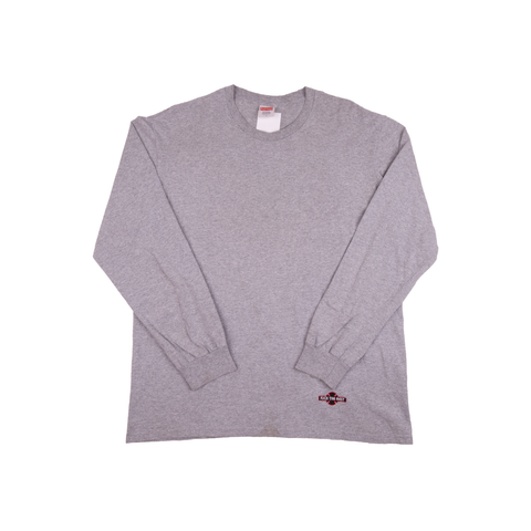 Supreme Grey Independent L/S