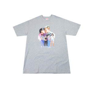 Supreme Grey Kiss Tee