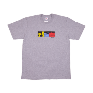Supreme Heather Grey Life Tee