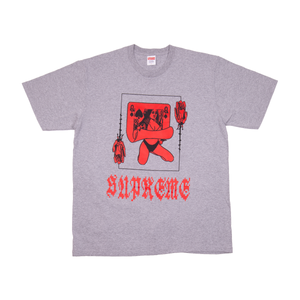 Supreme Grey Queen Tee