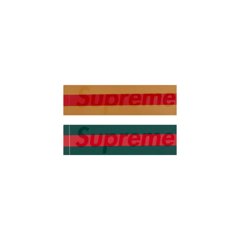 Supreme Gucci Box Logo Stickers