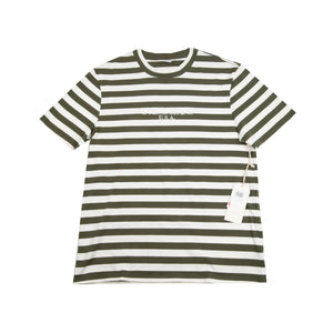 Guess Jeans Olive Striped Tee