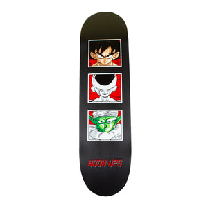Hook Ups Black Carbon Fiber DBZ Deck