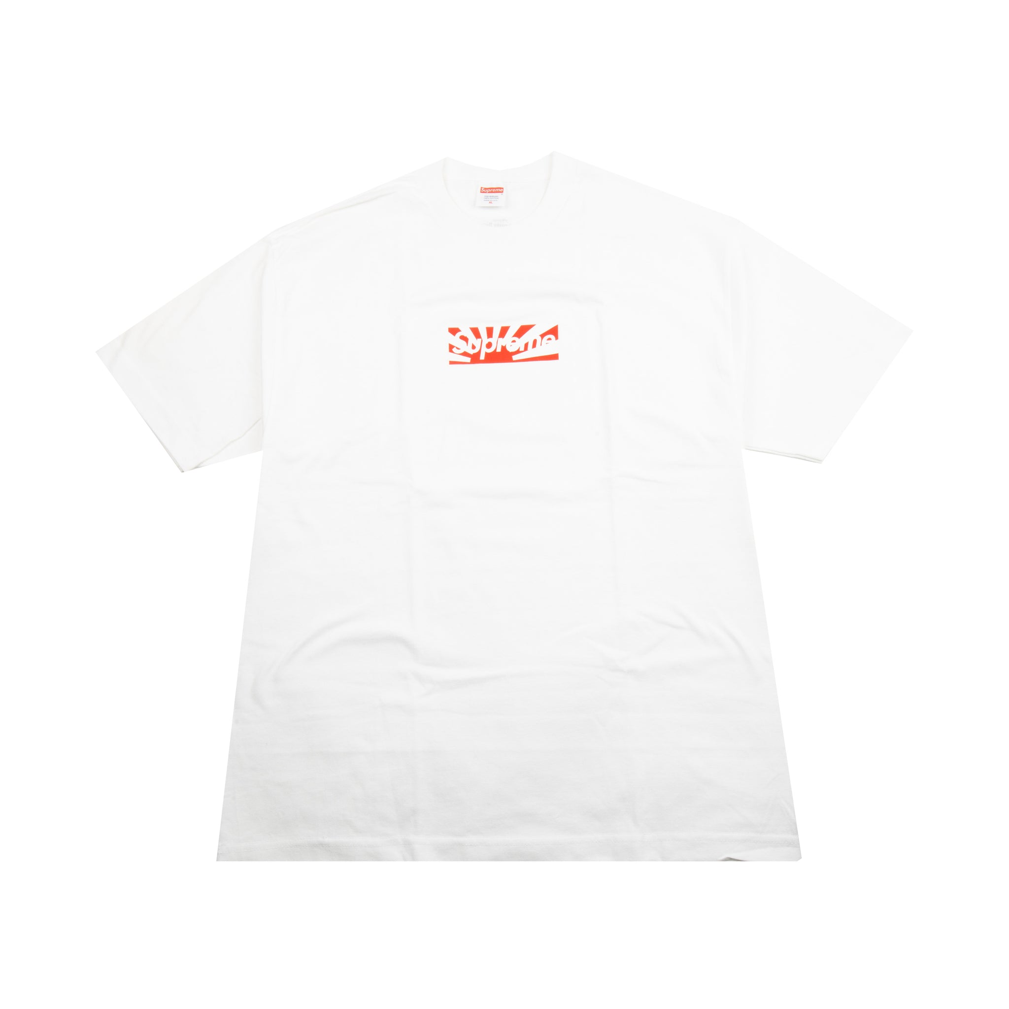 3df891f0dfe1 Supreme Japan Relief Box Logo Tee – On The Arm