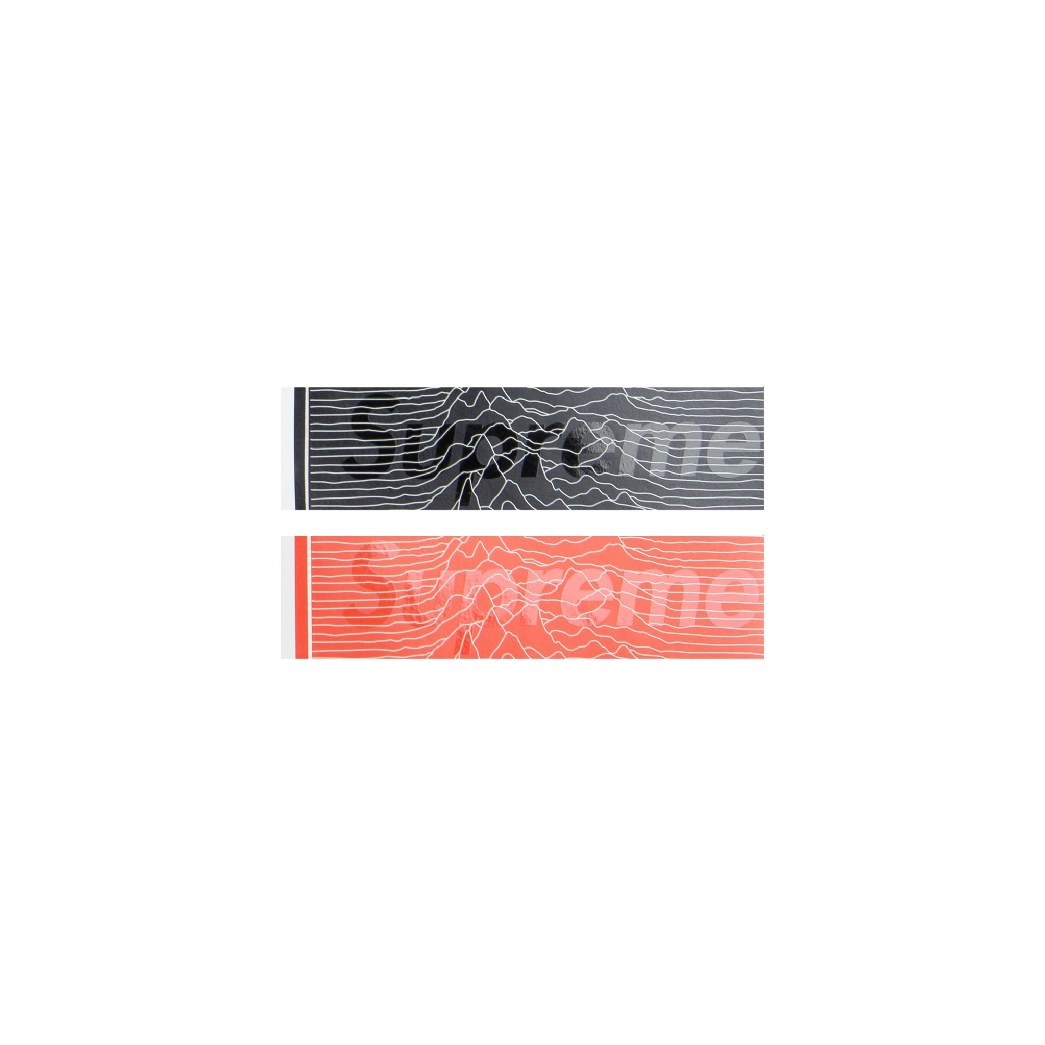Supreme Joy Division Box Logo Stickers