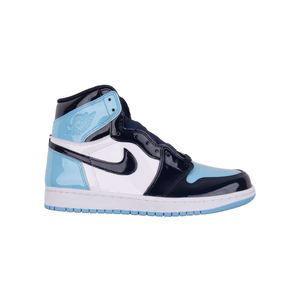 Nike UNC Patent Leather Jordan 1