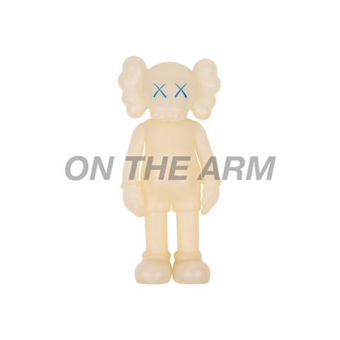 Kaws Five Years Later Blue Glow in the Dark Companion
