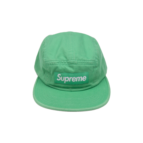 Supreme Kelly Green Washed Chino Twill Camp Cap