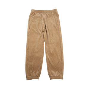 Supreme Khaki Velour Sweats