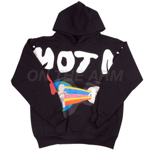 Cactus Plant Flea Market For MOTM III Black I Am Curious Hoodie
