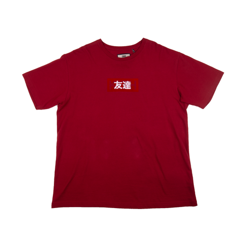 KITH Red Japanese Friends Tee