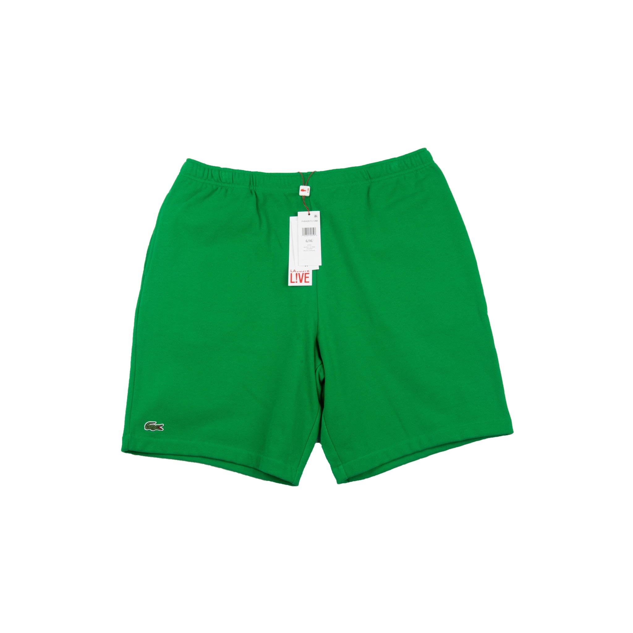 Supreme Green Lacoste Pique Shorts