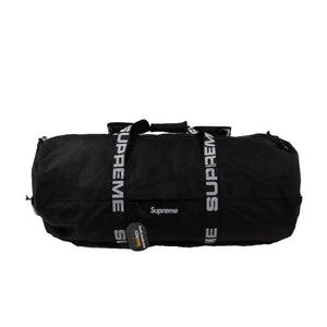 Supreme Black SS18 Large Duffle Bag