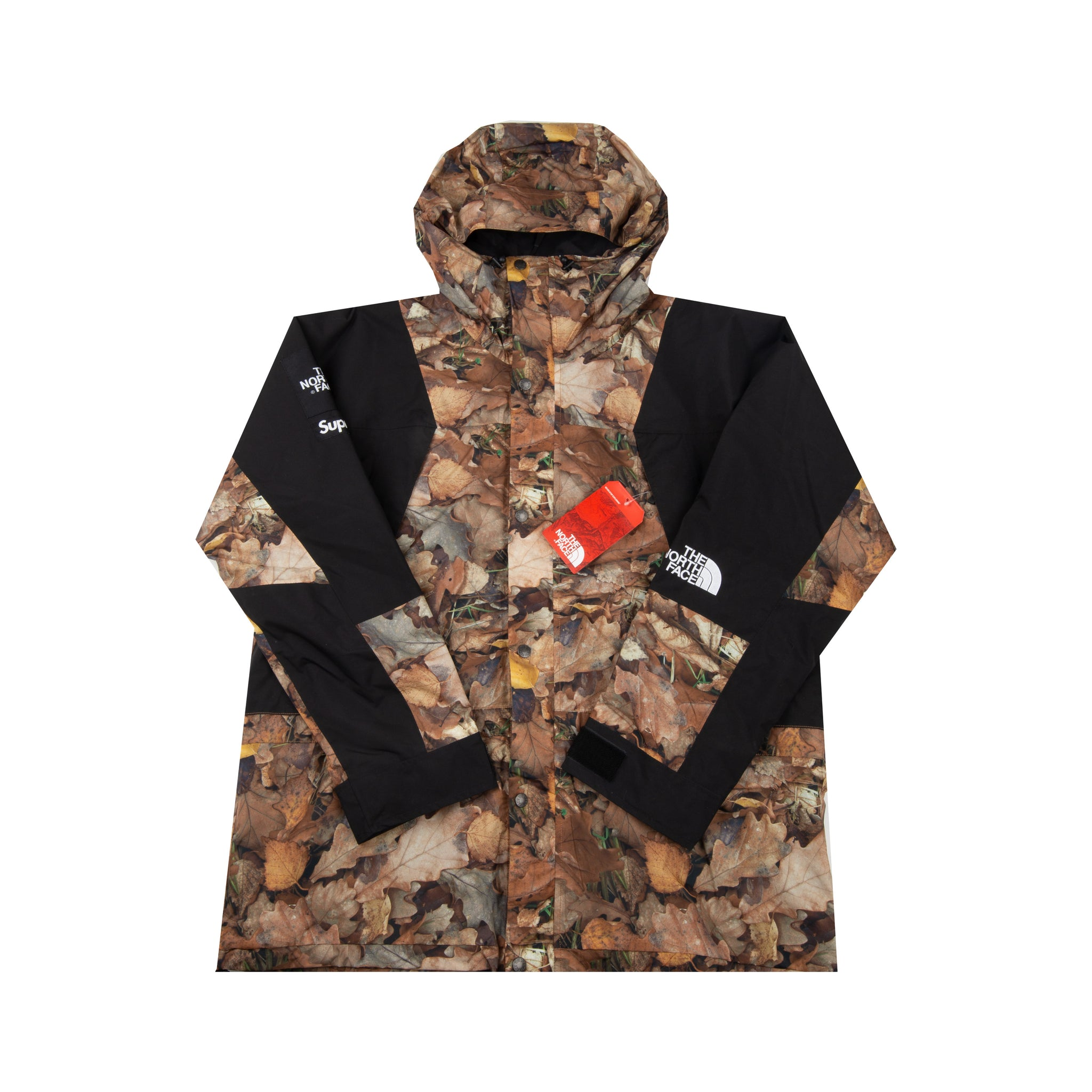 Supreme Leaves TNF Light Mountain Jacket