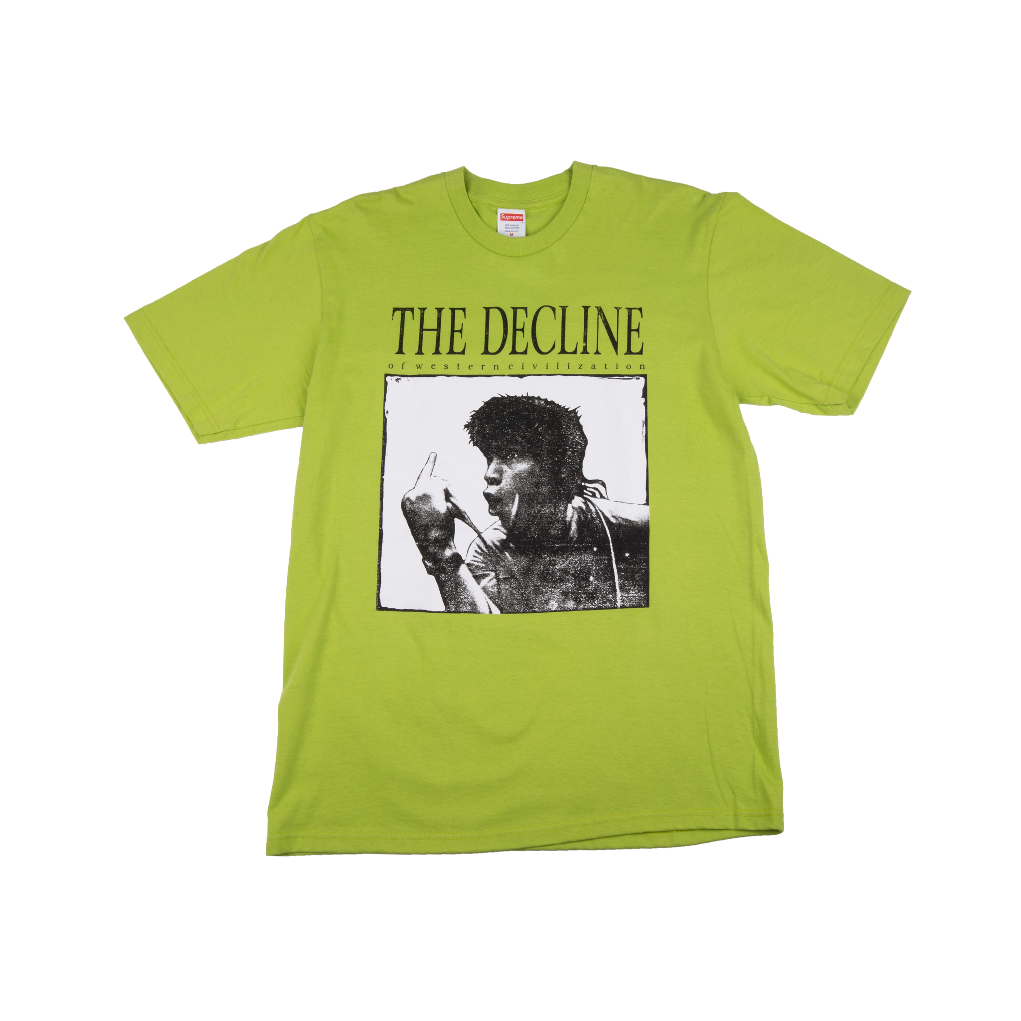 Supreme Lime Decline Tee