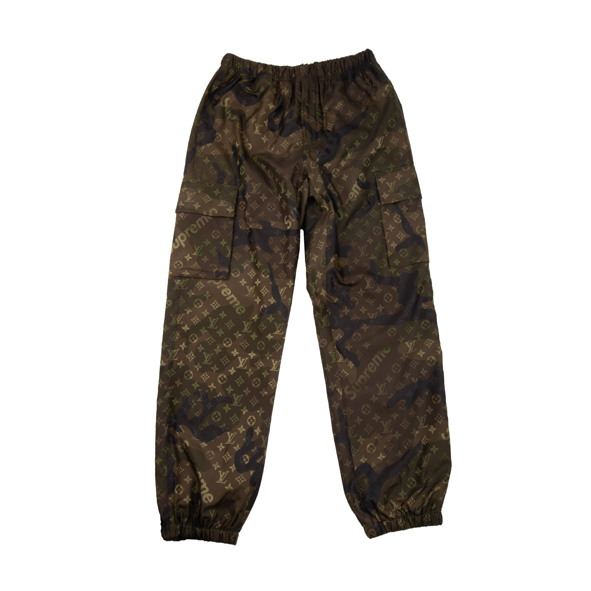 Supreme Camo Monogram Track Pants