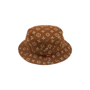 Supreme Brown Louis Vuitton Bucket Hat – On The Arm 95560547b0d