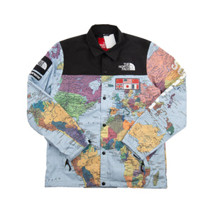 Supreme Maps TNF Expedition Coaches Jacket