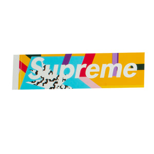 Supreme Blue Mendini Box Logo Sticker