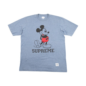 Supreme Heather Blue Mickey Tee