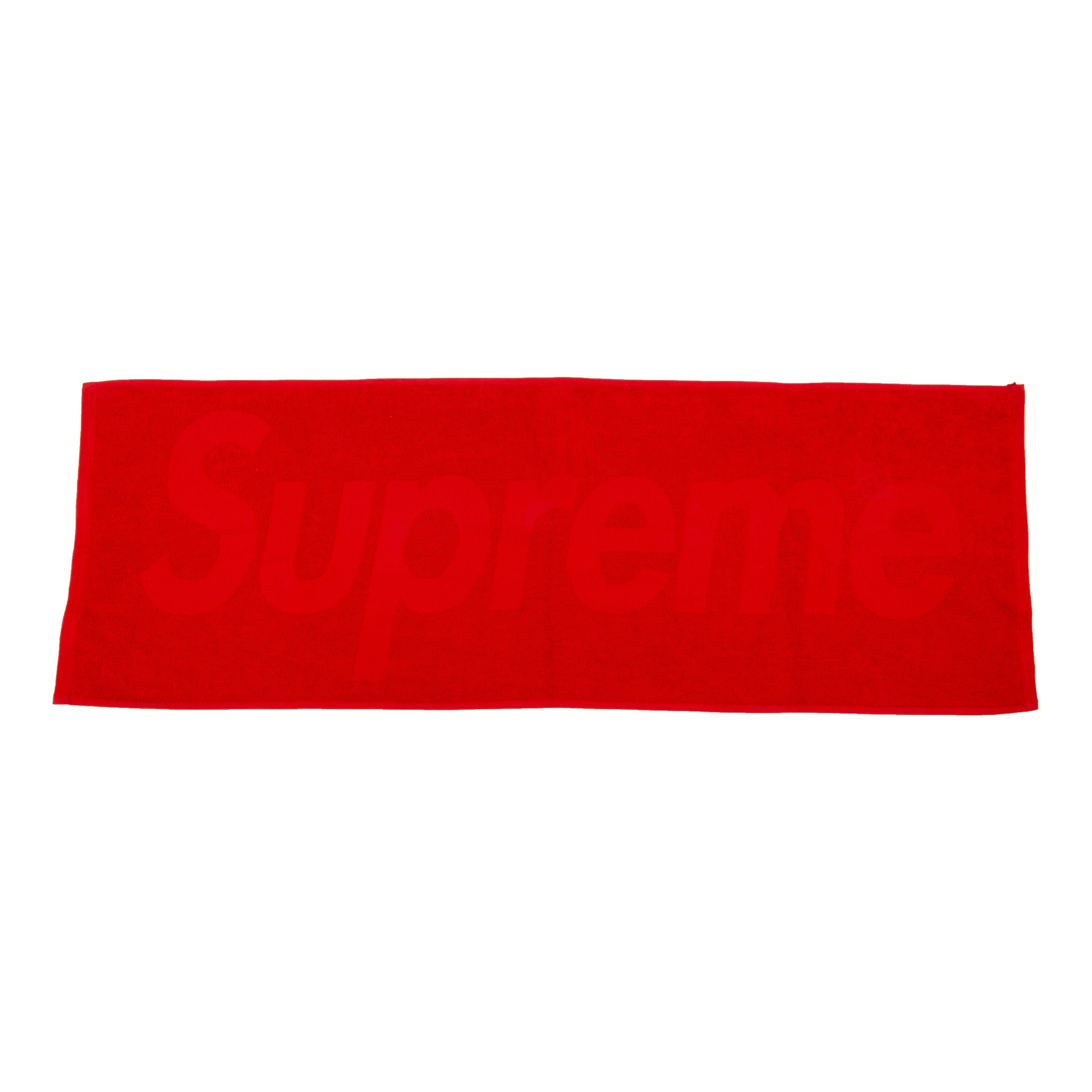 Supreme Red Terry Hand Towel