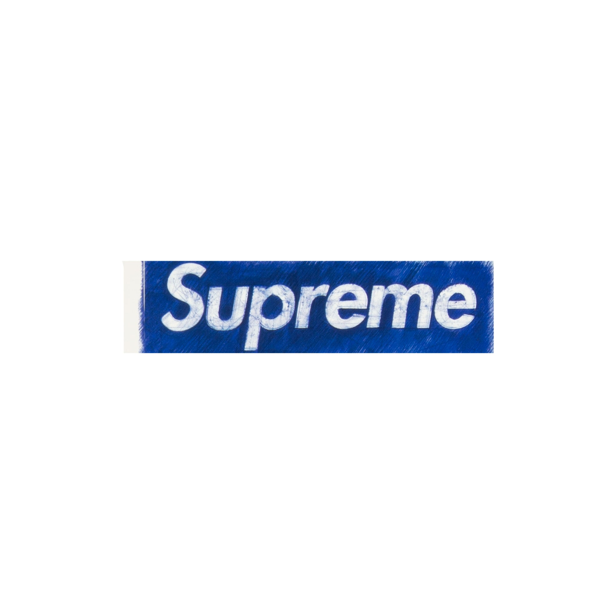Supreme Molodkin Box Logo Sticker