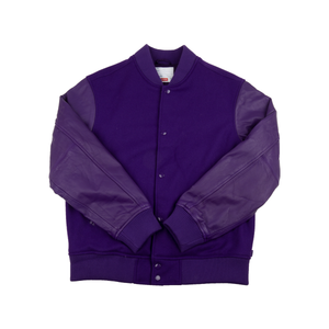 Supreme Purple Motion Logo Jacket