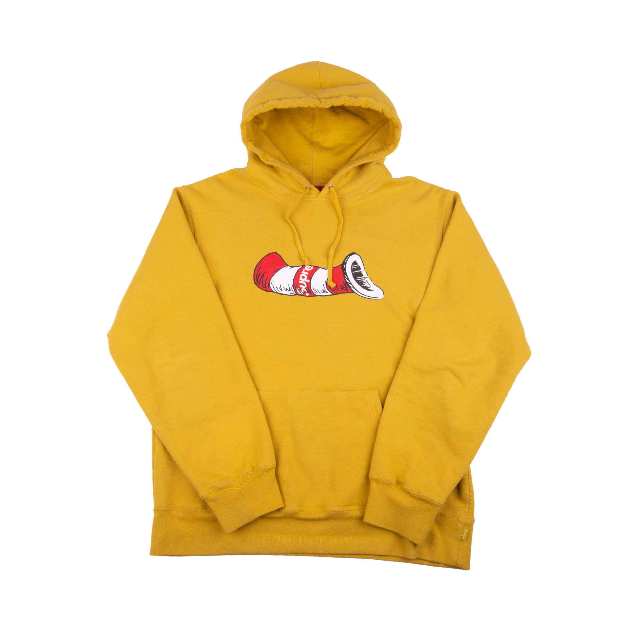 Supreme Mustard Cat In The Hat Hoodie